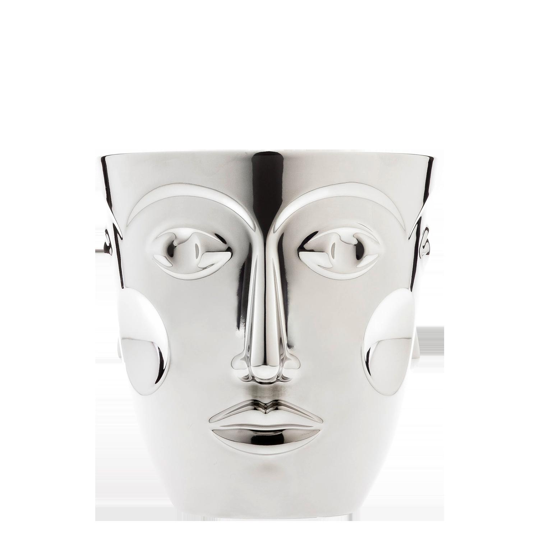 Sp. wine cooler FACES, platinum
