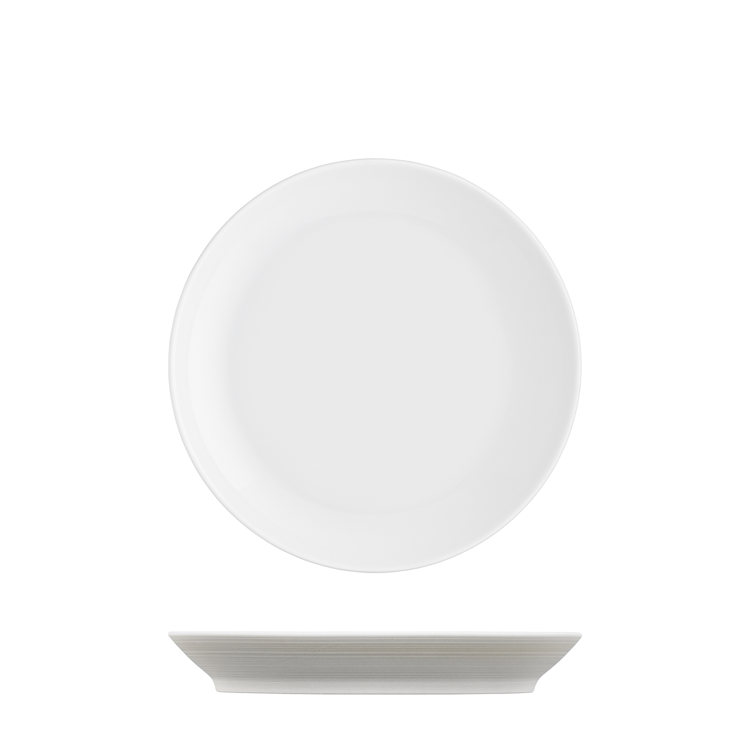 Breakfast plate light brown