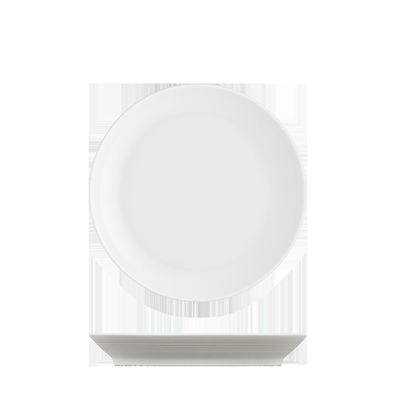 Frühstücksteller hellbraun