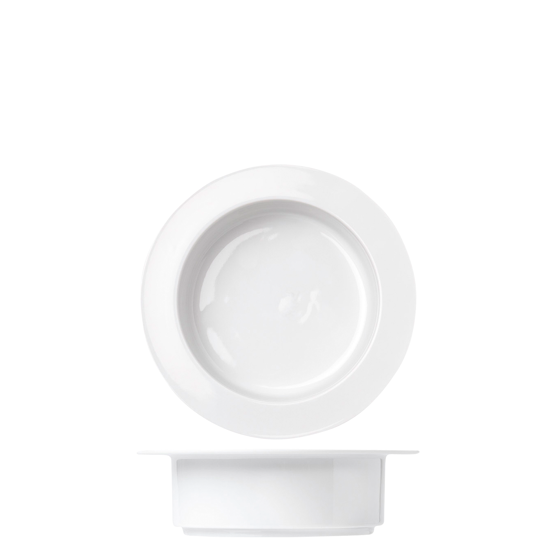 Soup bowl, white