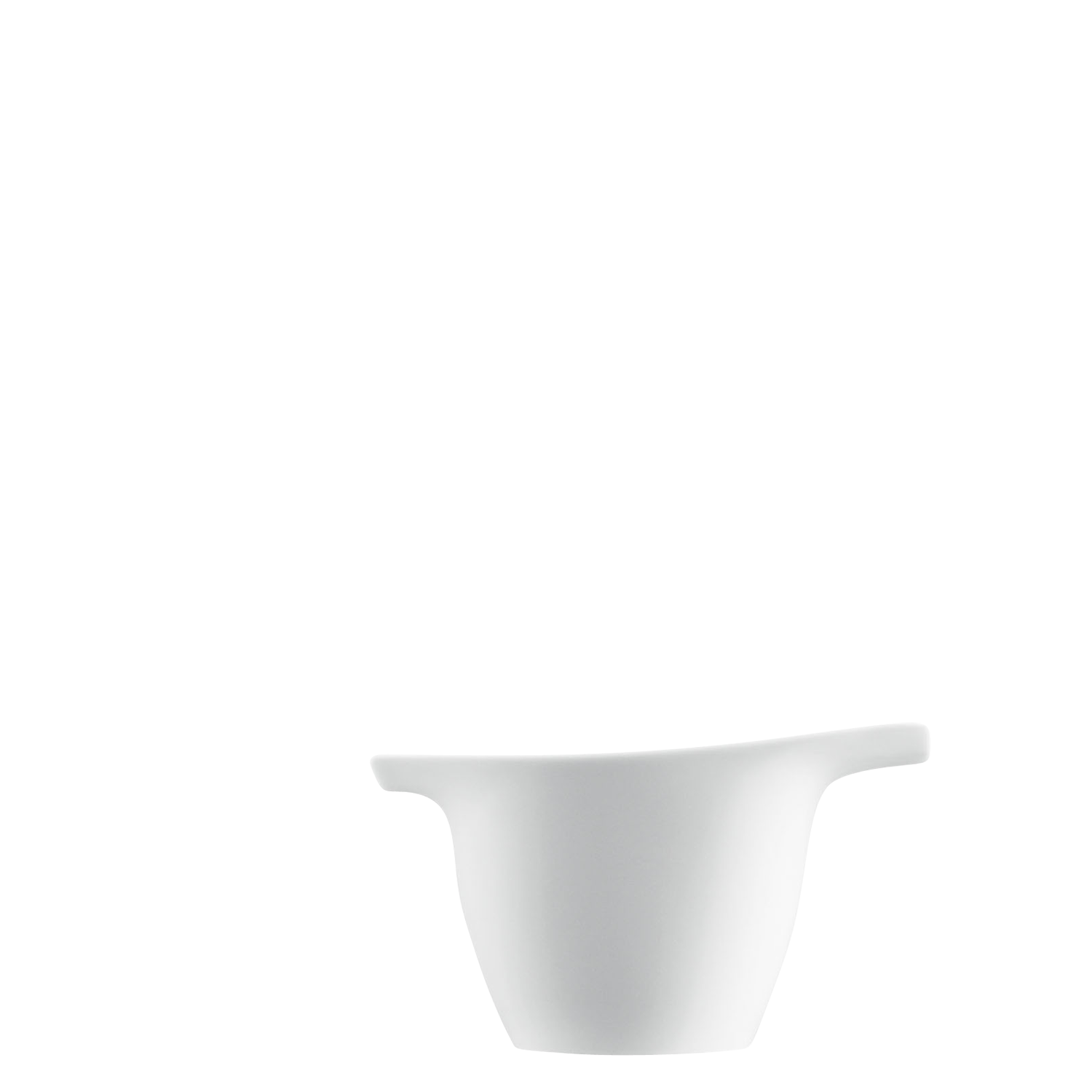 Creamer with grip