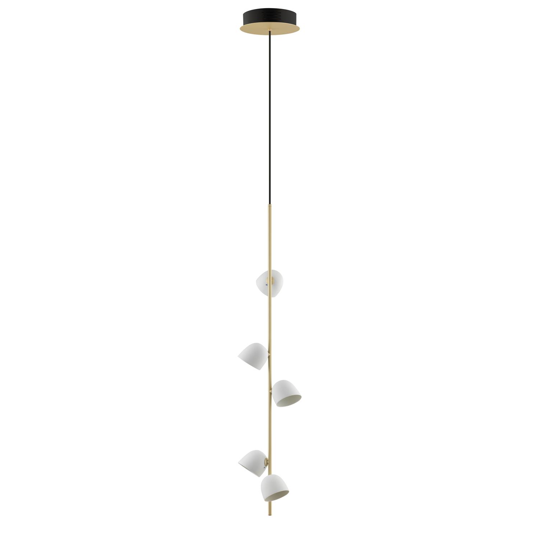 Pendelleuchte Champagner - 5 LED