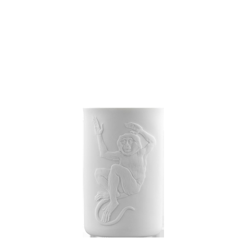 Becher doppelwandig (Relief Affe)