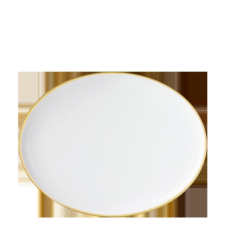 Teller oval