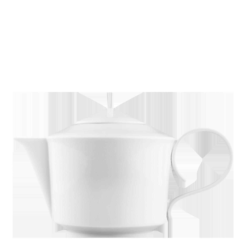 Teapot with tea strainer