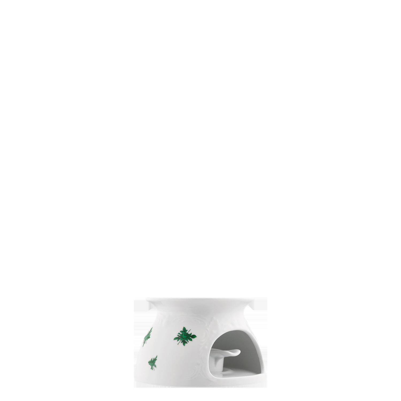 Stövchen (mit Relief) mit Einsatz