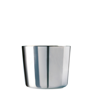 Champagne goblet, platinum, smooth