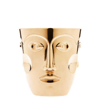 Sektkühler FACES, gold