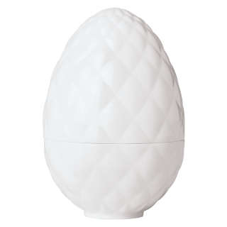 Eierbecher White, Cushion, Kissenrelief
