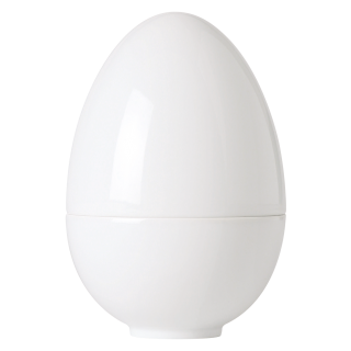 Eierbecher White, Plain, glatt