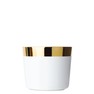 Champagne goblet white, smooth