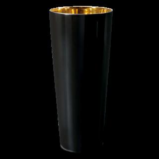 Goblet black, smooth
