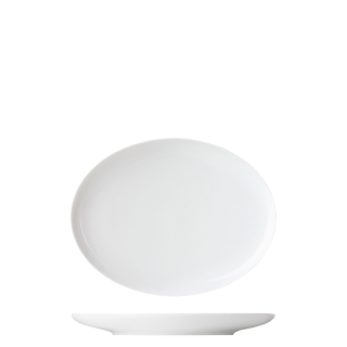 Teller oval klein