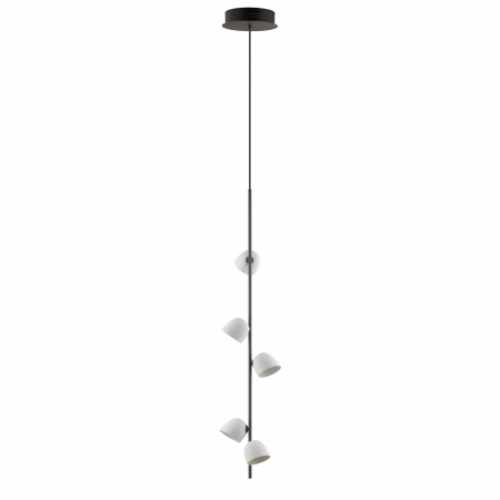 Pendelleuchte Anthrazit - 5 LED