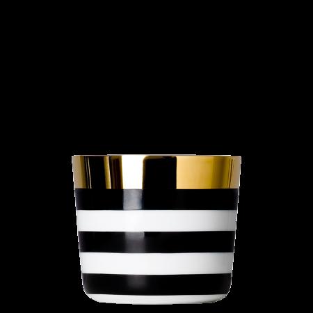Champagnerbecher CA` D`ORO, horizontal gestreift