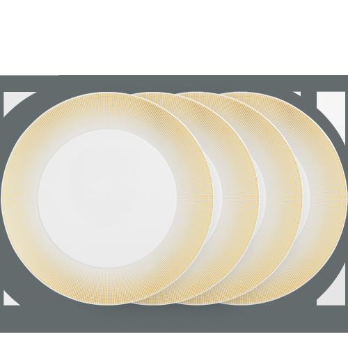 CLAIR DE LUNE Dinner plate, 4 pieces set