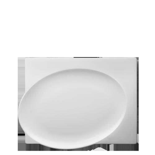 Plate rectangular