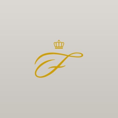 Speiseteller - Anthrazit Gold