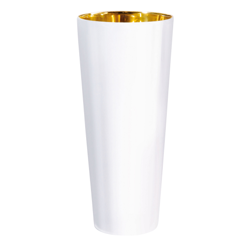 Trinkbecher White, Plain, glatt