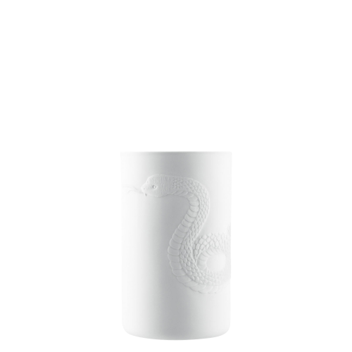 Mug double-walled (relief snake)