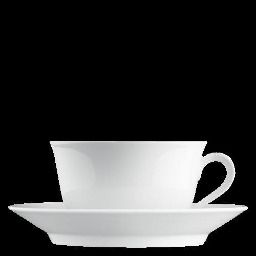 Breakfast cup, Saucer