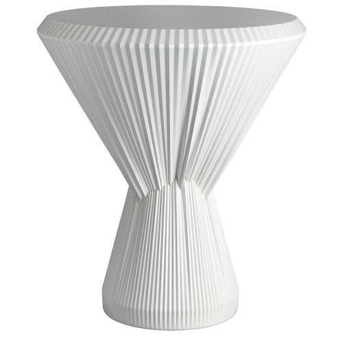 PLISAGO 52 SIDE TABLE WHITE