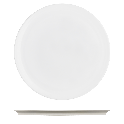 Dinner plate light brown