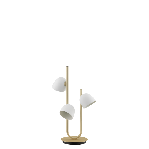 Table lamp champagne
