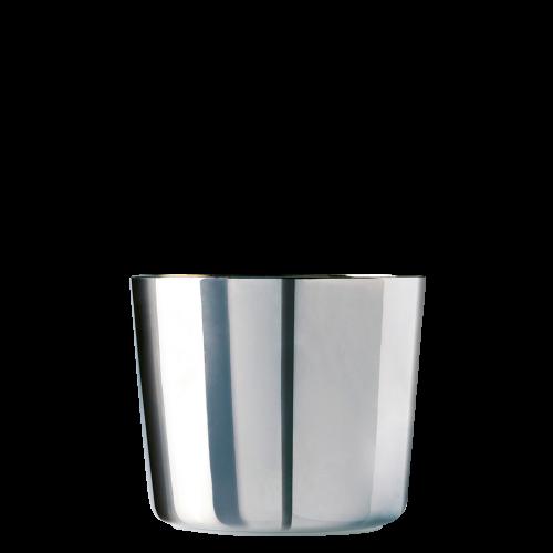 Champagerbecher Platinum, Plain, glatt