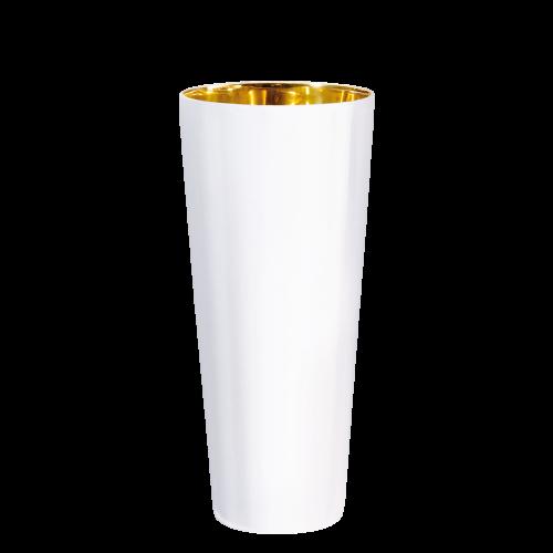 Goblet white, smooth