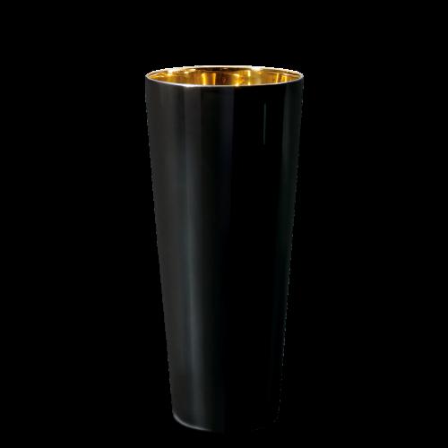 Trinkbecher Noir, Plain, glatt