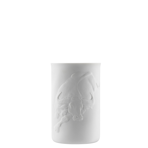 Mug (relief buffalo), double-walled