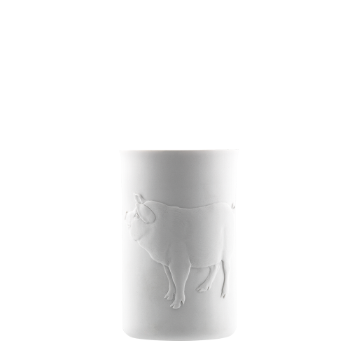 Mug double-walled (relief pig)