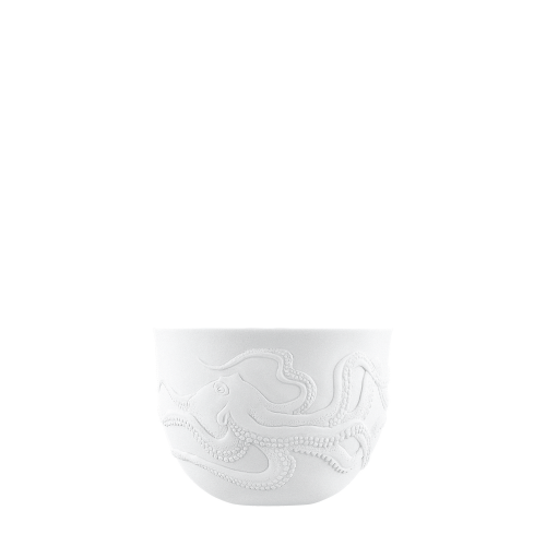 Bowl double-walled (relief octopus)
