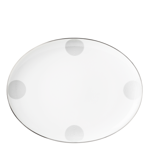 Plate oval