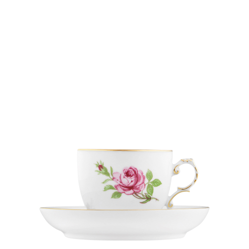 Coffee cup, Saucer with insert