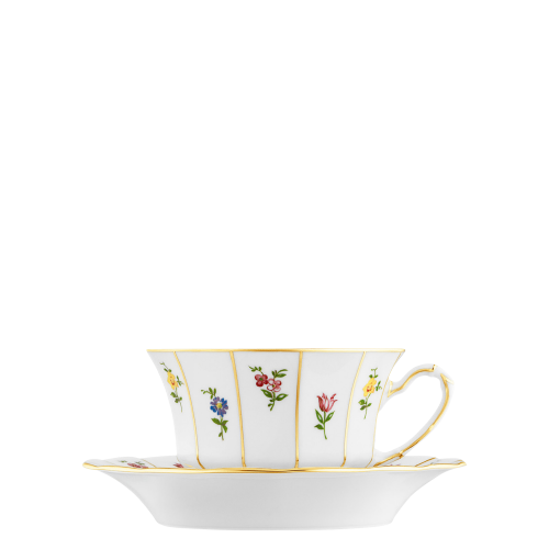 Coffee/tea cup, Saucer