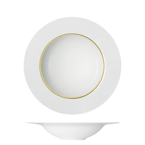 Pasta plate flat