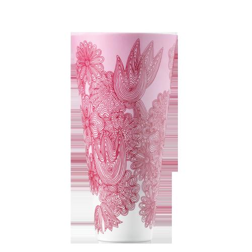 Vase LES FLEURS ROUGES