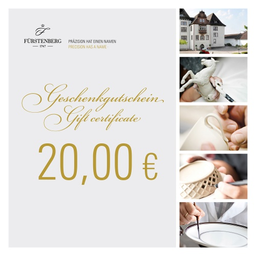 Gift certificate 20,00 EUR