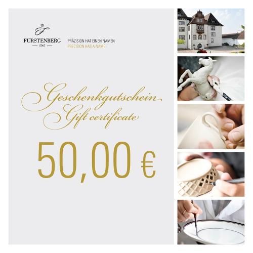 Geschenkgutschein 50,00 EUR