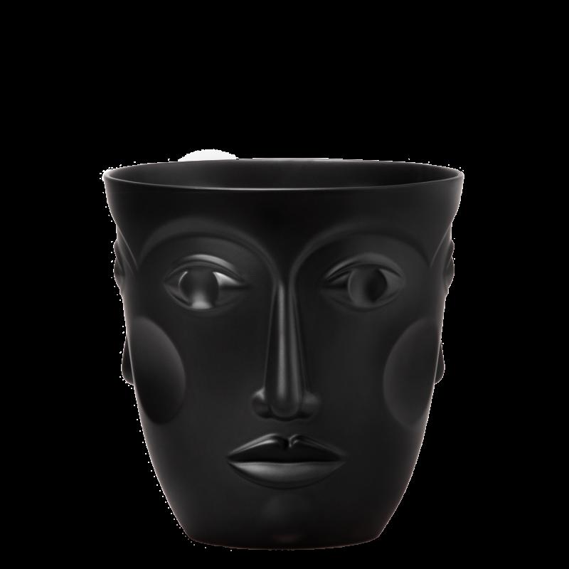Sp. wine cooler FACES, SATIN BLACK