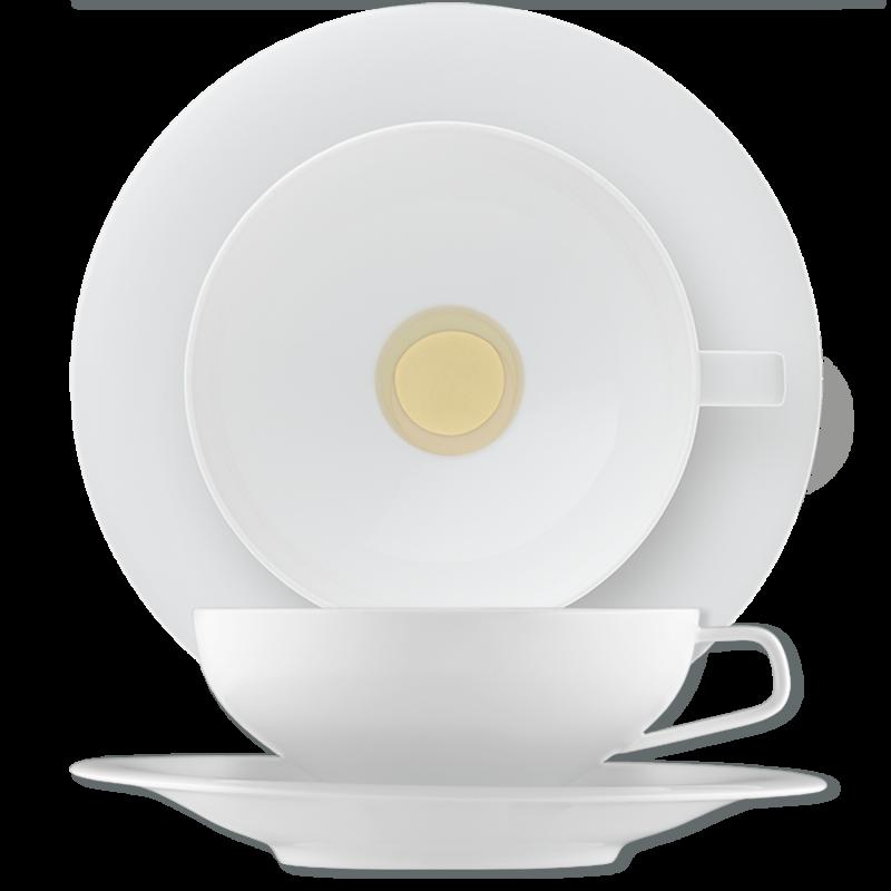 Tea cup, saucer