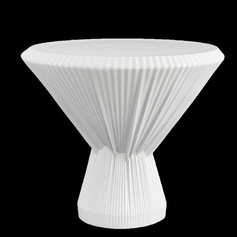 PLISAGO 42 SIDE TABLE WHITE