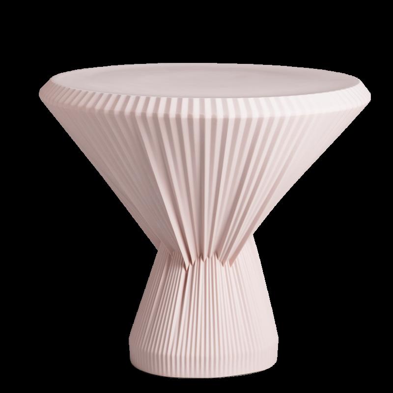 PLISAGO 42 SIDE TABLE ROSE