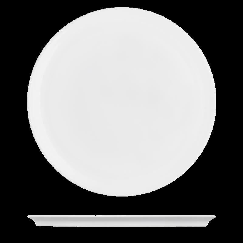 Dinner plate white