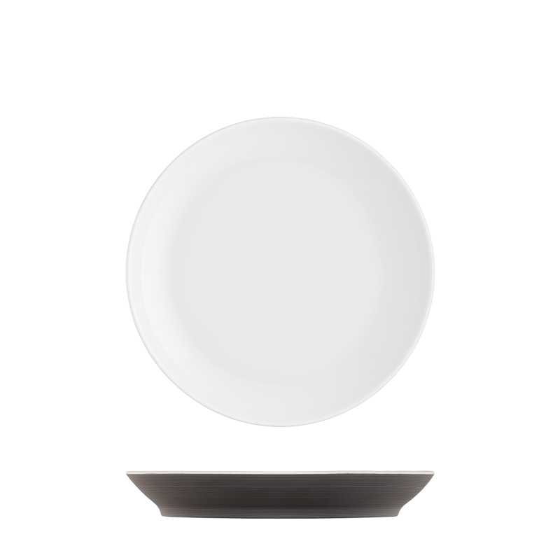 Frühstücksteller dunkelbraun