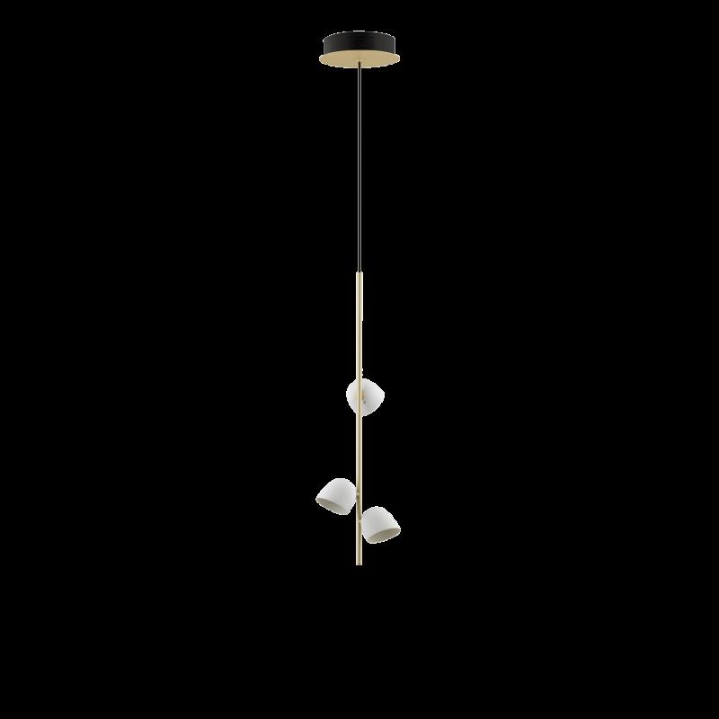 Pendelleuchte Champagner - 3 LED