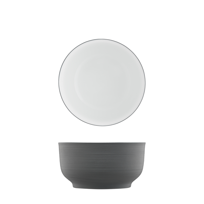 Bowl anthracite, double-walled