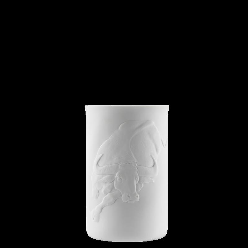 Becher doppelwandig (Relief Büffel)